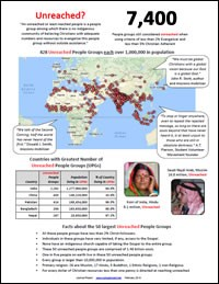 Unreached Peoples Overview