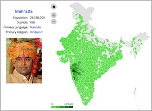 Maps joshua project india people groups map gumiabroncs Gallery