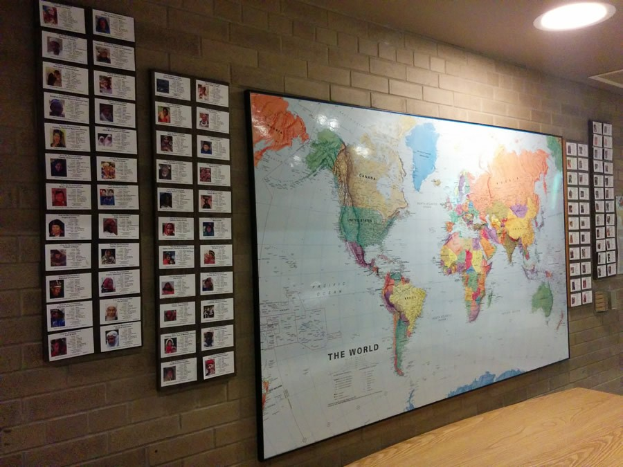 People Group Prayer Cards In A Bethany International Display