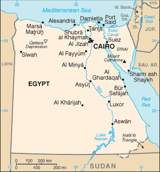Moroccan, Arabic-speaking in Egypt
