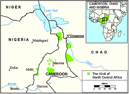 Giziga, South in Cameroon