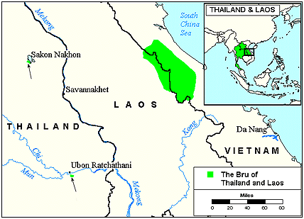 Bru, Eastern in Vietnam