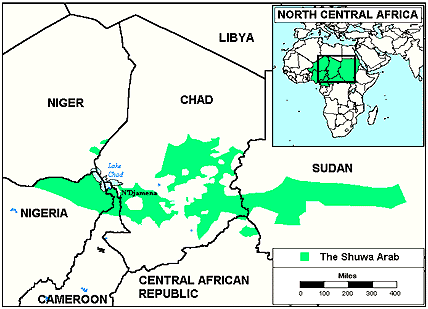 Arab, Shuwa in Central African Republic