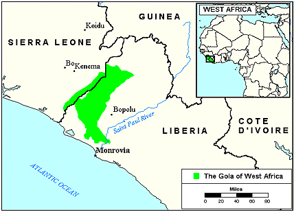 Gola in liberia joshua project gola in liberia map source bethany world gumiabroncs Choice Image