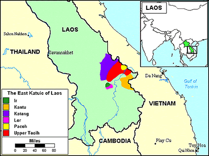 Katang, Northern in Laos