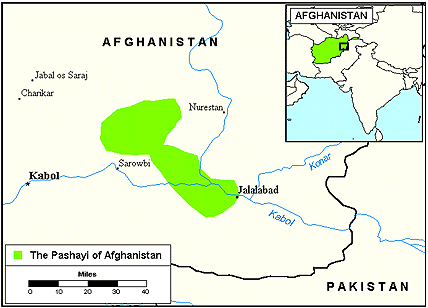 Pashayi, Southwest in Afghanistan