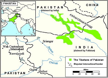 Tibetan in Pakistan