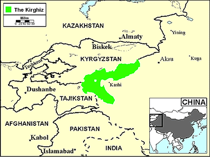 Kyrgyz in Korea, South