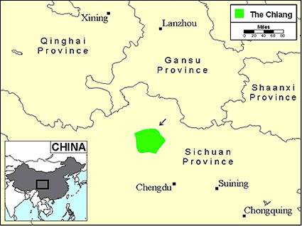 Qiang, Luhua in China