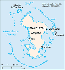 Makua, Makhuwa-Meetto in Mayotte