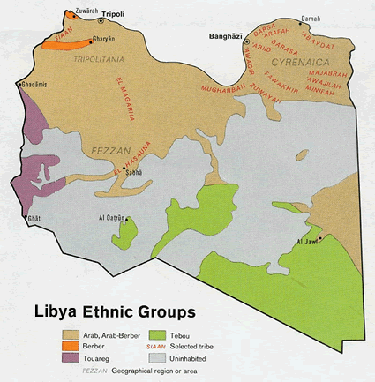 Arab, Cyrenaican in Libya