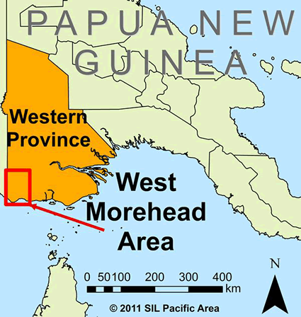 Lower Morehead, Peremka in Papua New Guinea