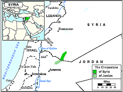 Adyghe in Jordan