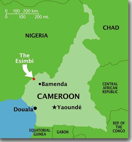 Esimbi In Cameroon Joshua Project - Cameroon language map