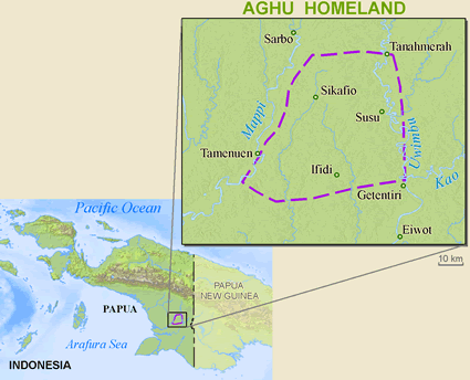 Aghu in Indonesia