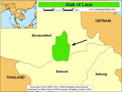 Alak in Laos