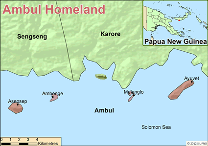 Ambul, Palik in Papua New Guinea
