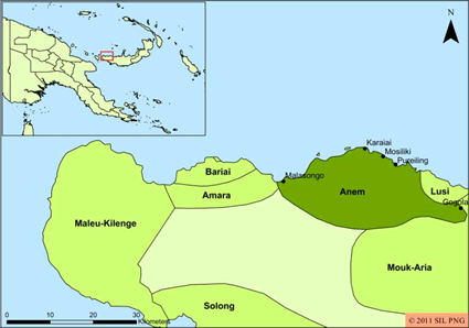 Anem in Papua New Guinea