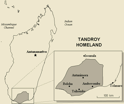 Antandroy in Madagascar