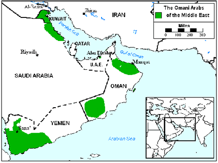 Arab, Omani in Kuwait