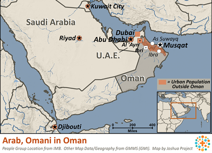Arab, Omani in Oman