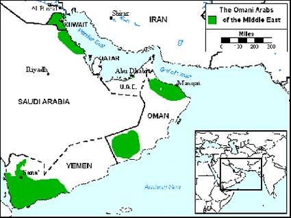 Arab, Omani in Yemen