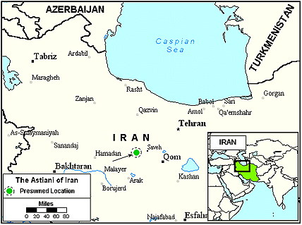 Astiani in Iran