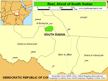 Reel, Atwot in South Sudan