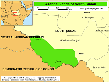 Azande, Zande in South Sudan