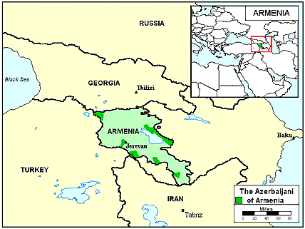 Azerbaijani, North in Armenia
