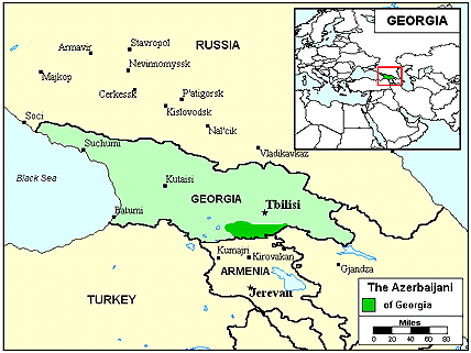 Azerbaijani, North in Georgia