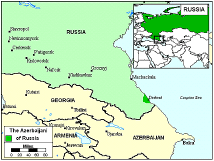 Azerbaijani, North in Russia