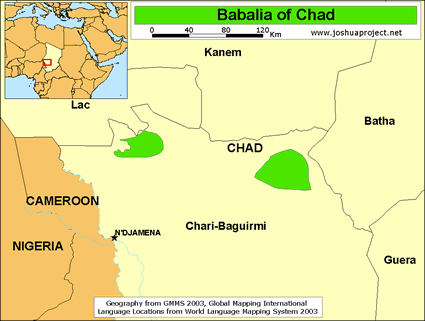 Babalia in Chad