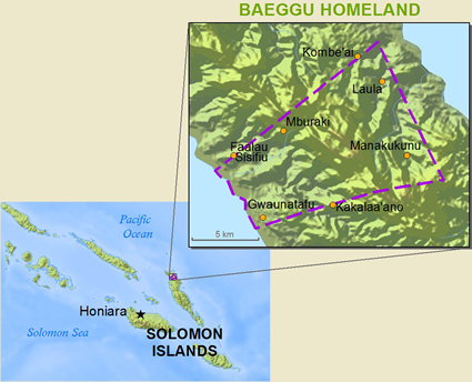 Baeggu in Solomon Islands