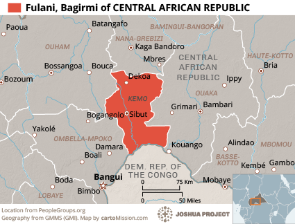 Fulani, Bagirmi in Central African Republic