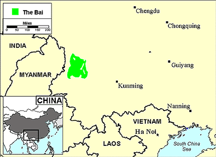 Bai in China