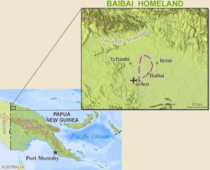 Baibai in Papua New Guinea