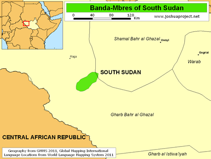Banda-Mbres in South Sudan