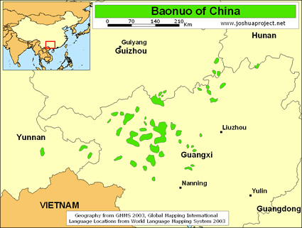 Baonuo in china joshua project map source joshua project global mapping international gumiabroncs Images