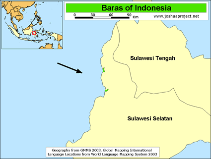 Baras in Indonesia