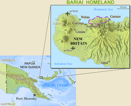 Bariai in Papua New Guinea