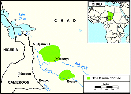 Barma, Bagirmi in Chad
