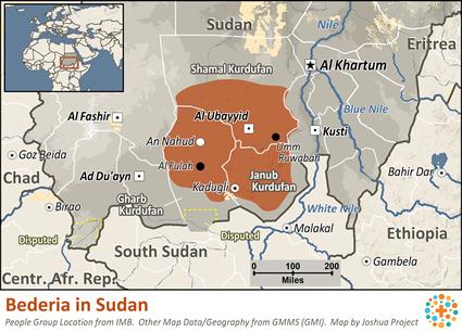 Bederia in Sudan   Joshua Project