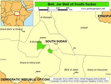 Beli, Jur Beli in South Sudan