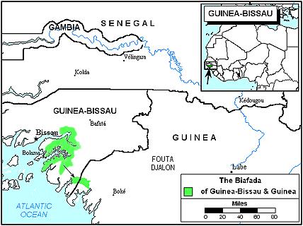 Biafada, Biafar in Guinea-Bissau