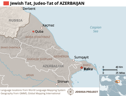 Jewish Tat, Mountain Jews in Azerbaijan