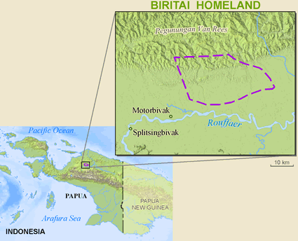 Map of Biritai in Indonesia