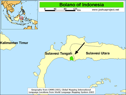 Bolano in Indonesia