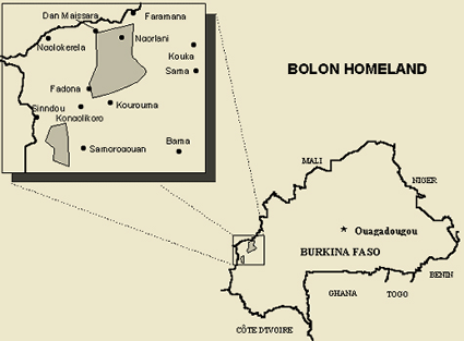 Bolon in Burkina Faso