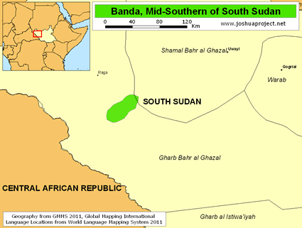 Banda, Mid-Southern in South Sudan